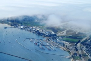Seeing Pillar Point Harbor from Above by M. Maheigan